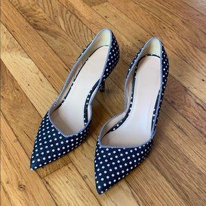 J. Crew heel shoes